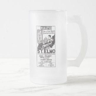 1924 John Gilbert St. Elmo Silent Movie Ad Mug