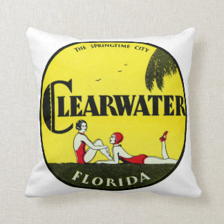 1925 Clearwater Florida Cushion