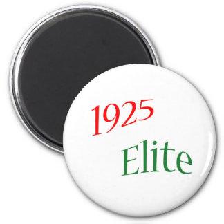 1925 Elite 6 Cm Round Magnet