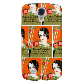 1925 Flowers of Paris France Perfume Samsung Galaxy S4 Covers