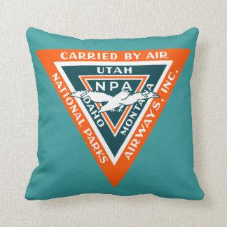 1925 National Parks Airways Cushion