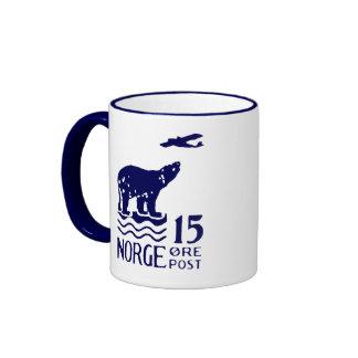 1925 Norwegian Polar Bear Coffee Mugs