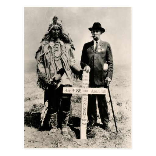 1926 Little Big Horn Postcard