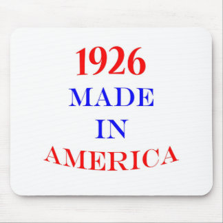 1926 Made in America Mousepads