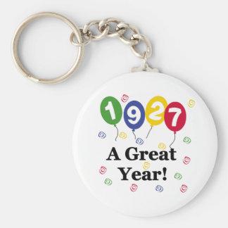 1927 A Great Year Birthday Key Chain