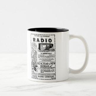 1927 Bremer Tully Radio Ad Mug