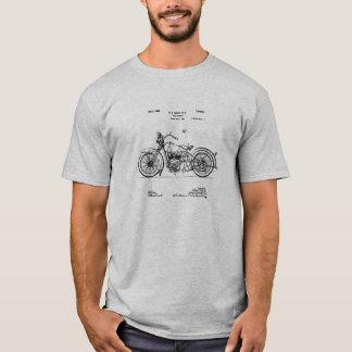 1928 Harley Cycle Patent Image T-Shirt