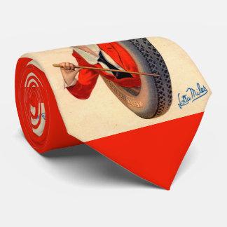 1928 Kelly-Springfields Tire mascot Lotta Miles Tie