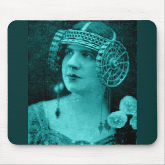 1929 French artiste Mme. Tessandra Mouse Pad
