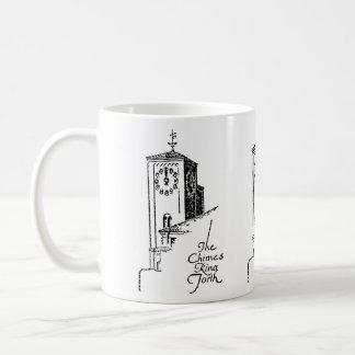 1929 Oviatt Building clock tower Basic White Mug