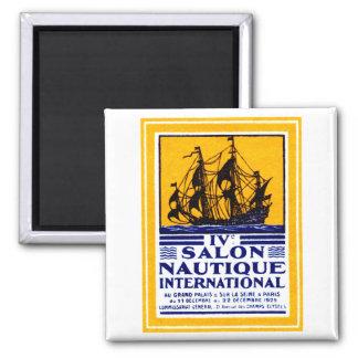1929 Paris Nautical Show Poster Magnet