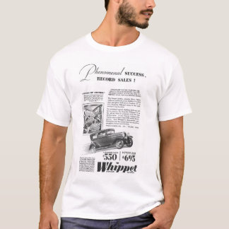 1929 Whippet vintage auto advertisement T-Shirt