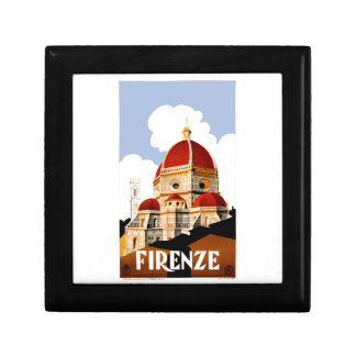1930 Florence Italy Travel Poster Gift Box