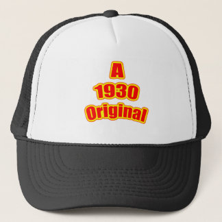 1930 Original Red Trucker Hat