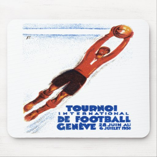 1930 Soccer Tournament Mouse Pads