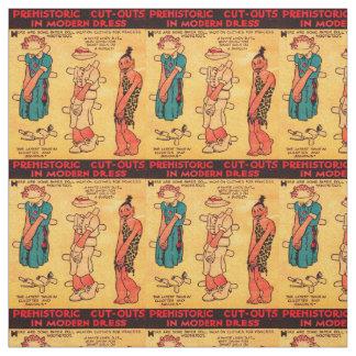 1930s comic strip paper doll Princess Wootietoot Fabric