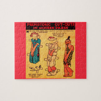 1930s comic strip paper doll Princess Wootietoot Jigsaw Puzzle