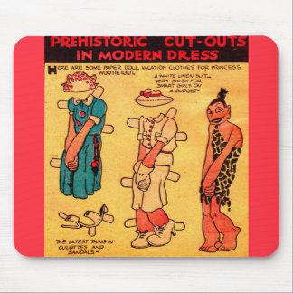 1930s comic strip paper doll Princess Wootietoot Mouse Pad
