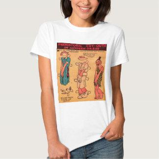 1930s comic strip paper doll Princess Wootietoot Shirt