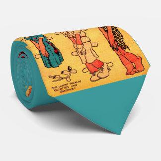 1930s comic strip paper doll Princess Wootietoot Tie