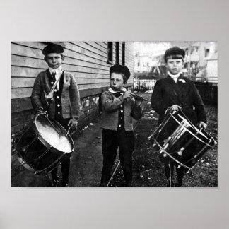 1930's Drummer Boys Print