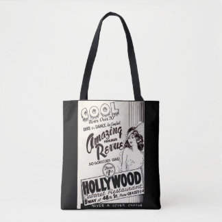 1930s Hollywood Cabaret Restaurant ad Tote Bag