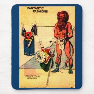 1930s Prince Thun Lion Man paper doll Flash Gordon Mouse Pad