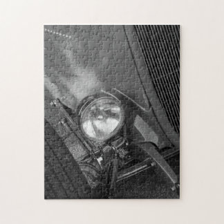 1930's Roadster Grayscale Jigsaw Puzzle