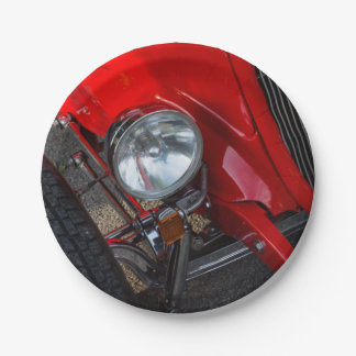 1930's Roadster Paper Plate