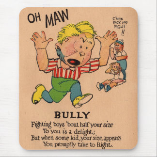 1930s vinegar valentine: the Bully Mouse Pad