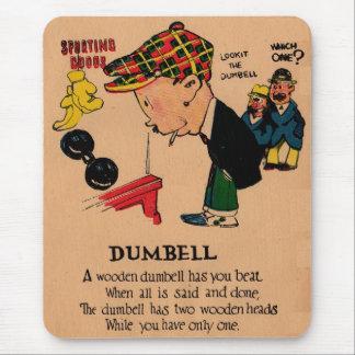 1930s vinegar valentine: the Dumbbell Mouse Pad