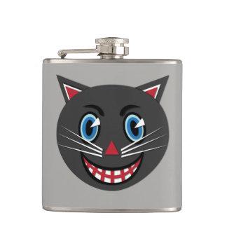 1930's Vintage Black Cat Flask
