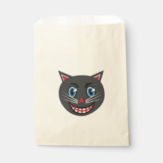 1930's Vintage Black Cat Treat Bags