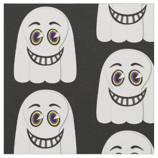 1930's Vintage Ghost Fabric