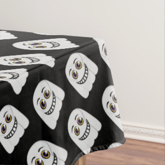 1930's Vintage Ghost Table Cloth