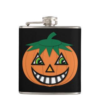 1930's Vintage Jack-O-Lantern Flask