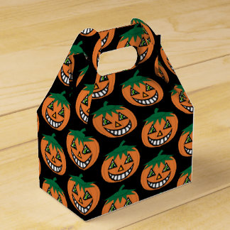 1930's Vintage Jack-O-Lantern Treat Box