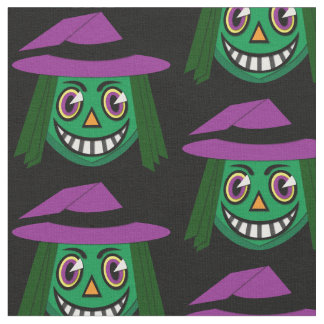 1930's Vintage Witch Fabric