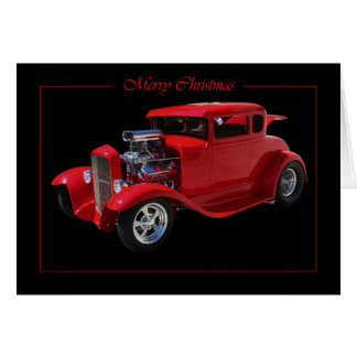 1931 5 Window Coupe Greeting Card