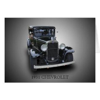 1931 CHEVROLET CARD