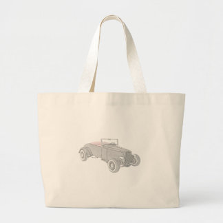 1931 Ford Hot Rod Canvas Bags