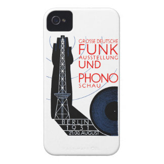 1931 German Radio and Music Expo iPhone 4 Case-Mate Cases