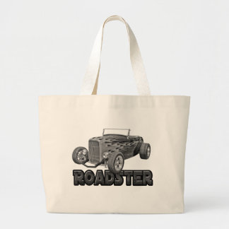 1932 Ford Roadster Street Rod Basic Black Tote Bags