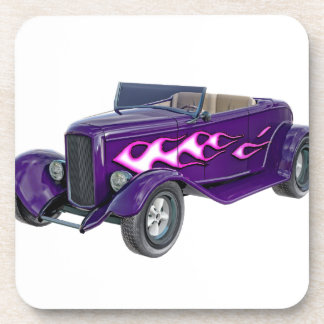 1932 Purple Roadster with Flame Coaster