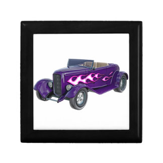 1932 Purple Roadster with Flame Gift Box