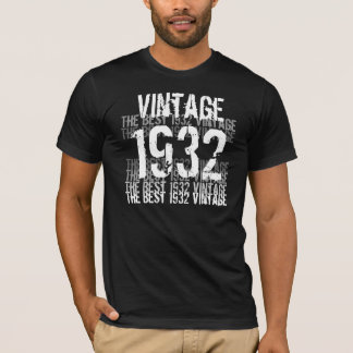 1932 Vintage - Birthday T-Shirt