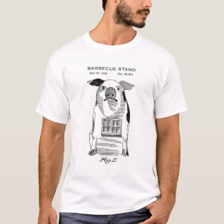 1933 Barbecue Stand T-Shirt