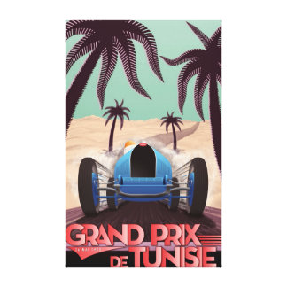 1933 Grand Prix De Tunisie Canvas Print
