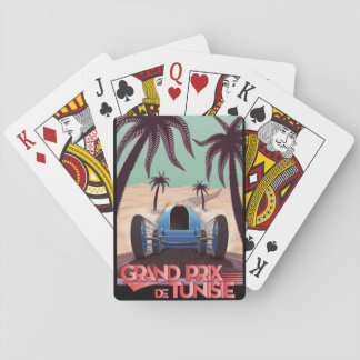 1933 Grand Prix De Tunisie Playing Cards