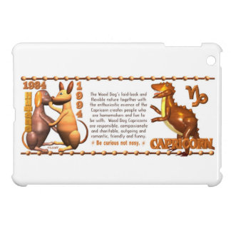 1934 1994 Wood Dog Capricorn iPad Mini Covers